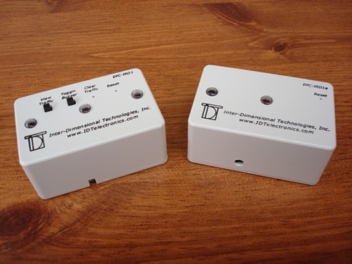 EPC-IRD1 People Counter & Optional EPC-IRD1E Infrared Emitter