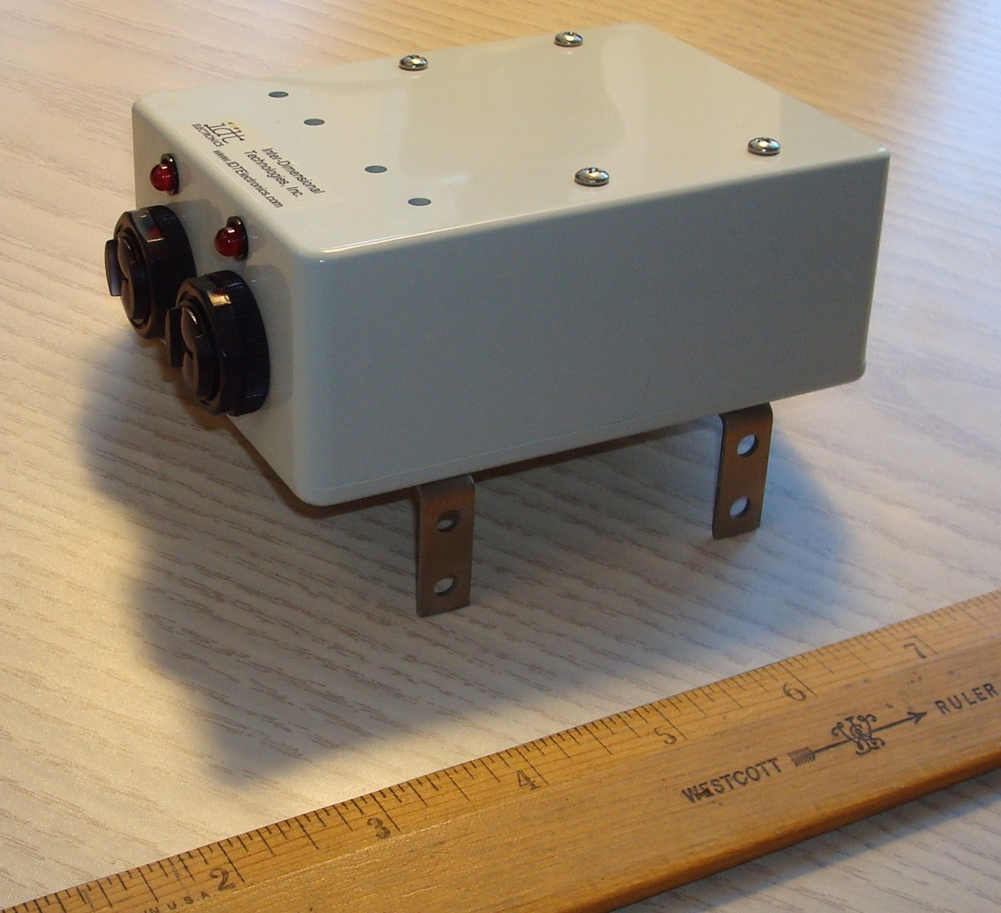 RTC-S2X Infrared Door Sensor with Installation Brackets (Use with RTC-P3 Retail Traffic Counter/People Counter)