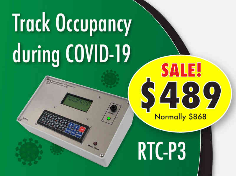 RTC-P3 People Counter Track Occupancy for COVID-19